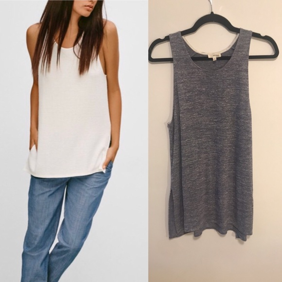 Wilfred free ornella tank sz small in blue